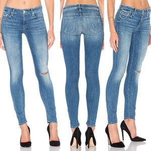 Mother The Looker High Five Distressed Skinny Jean